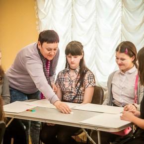 В музее прошел мастер-класс художника-графика Ирины Сизоненко