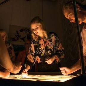 (Русский) 13 июля в 13:00 остоится мастер-класс от Арт-студии песочной анимации и живописи «Art-i-Shock»